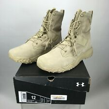 Mens Under Armour Jungle Rat Tactical Boots Desert Sand Sizes 12-13 NWB