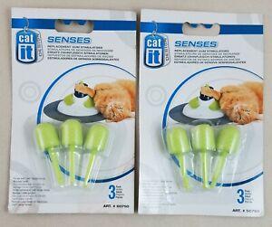 CatIt Senses Replacement Gum Stimulators 50750 Cat Massage Play Center 2 3-Packs