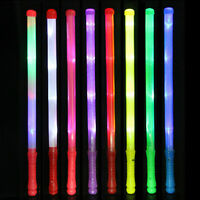 1 Pc Wand LED Glow Flashing Light Up Stick Blinking Concert Party Favor LJ