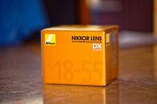 Nikon lens AF-P DX Nikkor18-55mm F3.5-5.6G