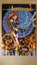 Avengelyne #1 (Maximum Press) Volume 2 DF Variant Signed by John Stinsman ~ FN+