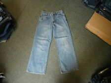 "Animal Loose Leg Jeans Waist 27"" Leg 27"" Faded Medium Blue Mens Jeans"