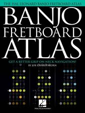 Banjo Fretboard Atlas Sheet Music Get a Better Grip on Neck Navigation 000201830
