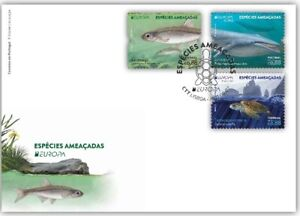 Portugal 2021 First Day Cover CEPT EUROPA 2021 - ENDANGERED NATIONAL WILDLIFE