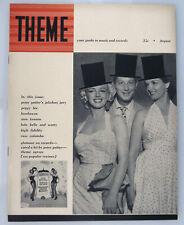 Theme Magazine 1953 Marilyn Monroe & Jane Russell Cover Gentlemen Prefer Blondes