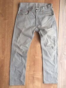 LVC Levi's Vintage Clothing 519 Bedford Pants Gris W32L32 Big E