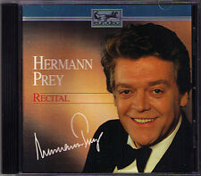 Hermann Prey: recital Gounod Offenbach Wagner Lortzing Nessler Toselli Lennon CD