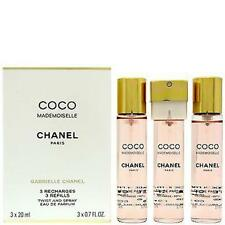 Chanel Coco Mademoiselle Edp Twist & Spray 3x20ml Refills Brand
