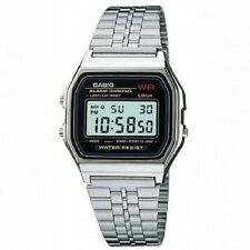 A159WA-N1D Vintage Casio  Sliver Digital Watch  A159 Made in Japan