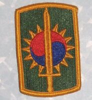US Army 8th Military Police Brigade Patch