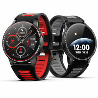 Smartwatch L6 Bluetooth Uhr Curved Display Android iOS Samsung iPhone Huawei IP