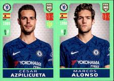 Panini Fifa 365 2020 Sticker 13 - Cesar Azpilicueta - Marcos Alonso