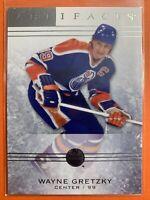 2014-15 Upper Deck Artifacts #41 Wayne Gretzky Edmonton Oilers Legend