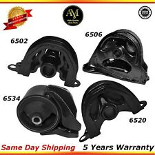 A6502, A6520, A6534, A6506 engine mount Set Honda Civic de Sol 1.5L 1.6L