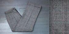 VTG Polo Ralph Lauren USA Flannel Houndstooth Check Plaid Dress Pants 31x30