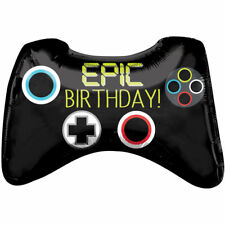 "28"" Supershape Epic Game Controller Xbox Birthday Foil Helium Party Balloon 804"