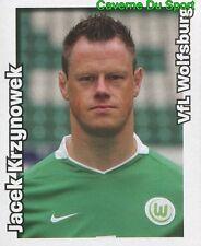 483 JACEK KRZYNOWEK POLAND VFL WOLFSBURG STICKER FUSSBALL 2009 PANINI