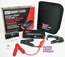 Smart Start Charger 500AMP Power Pack & Jump Starter 3L Diesel 6L Petrol GENII