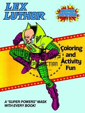 Vintage Reprint - 1984 - Lex Luthor Coloring & Activity Fun Cover And Mask