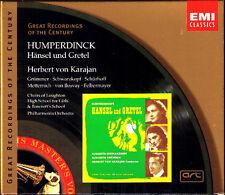 HUMPERDINCK Hansel und Gretel SCHWARZKOPF GRÜMMER KARAJAN 2CD Metternich Ilosvay