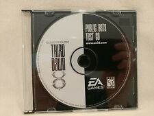Ultima Online 3rd Third Dawn Public BetaTest Cd Origin Collectible Not playable