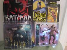 Batman Kenner 2 p Lot Action Figure 1994-5 Power Guardian & Legends Catwoman NIP
