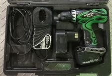 HITACHI DS 14DVF3 14.4v Cordless Drill 2 Batteries & Charger