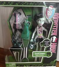 MONSTER HIGH SCARAH SCREAMS DOLL BNIB ORIGINAL RELEASE I LOVE FASHION RARE