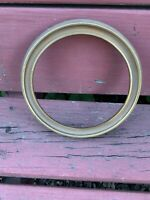 Vintage Wooden Round Gold Painted 7inch Picture Frame