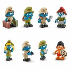 2016 Smurfs - Set of Jungle Smurfs 2016. 8 new figures from Schleich