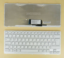 New For SONY VAIO VPC CW VGN-CW Keyboard Backlit Spanish Teclado frame White