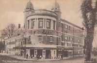 Welch Postcard. New Theatre, Cardiff. Bicycle. c 1910