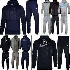 Nike Mens Full Tracksuit Fleece Hooded Jogging Bottms Joggers - S M L XL