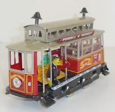 "PAYA Replika US Strassenbahn ""Powell & Market"" Blech Uhrwerkantrieb ca. 17,5 cm"