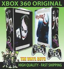 Xbox 360 Why so Serious Joker 001 Sticker Skin Cover & 2 Pad Skins