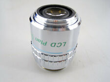 NIKON LCD PLAN 50 X / 0.55 ELWD DIC MICROSCOPE OBJECTIVE 50X EXTRA LWD