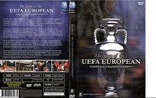 The Story of The UEFA European Football Championships-2008-3 Hr-Soccar UEFA-DVD