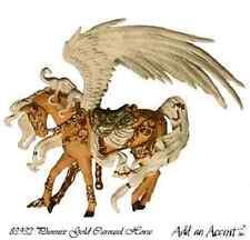 NIB Nene Thomas Fantasty Couture Carousel Pegasus Unicorn Horse  Phoenix Gold