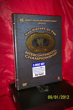 WWE History of the Intercontinental Championship (DVD, 2008)