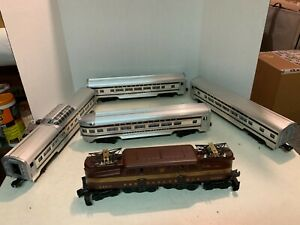 Williams Trains - 2360 Tuscan GG1 and 5 Congressional Passenger Cars