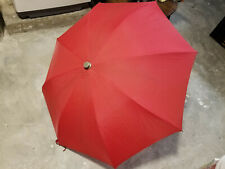 Knirps Vintage Red Umbrella / Chain And Holder