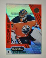 2020-21 UD Synergy Red Bounty Code Rookie #96 Stuart Skinner RC