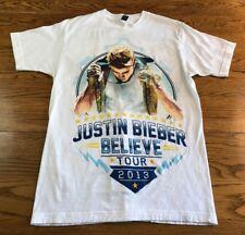 Justin Bieber 2013 Believe Tour Concert T Shirt Adult M Medium