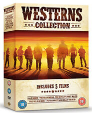 DVD:WESTERN COLLECTION - PALE RIDER  THE SEARCHERS /OUTLAW  - NEW Region 2 UK