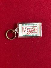 "1980's, McDonald's, ""McPizza"" Plastic Promotional Key Ring (Scarce)"
