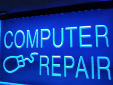 Computer Repair LED Sign Business Internet Laptop Neon Retail Shop Cell Phone
