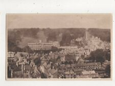 Cirencester From Church Tower Vintage Postcard 803a
