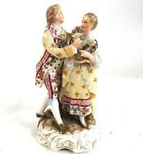 Antico Rudolstadt Volkstedt Triebner, Ens & CO gruppo di figura di porcellana