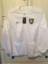 Nike West Point Army Dri Fit 1/4 Zip Pullover Windbreaker White Mens Size 3XL