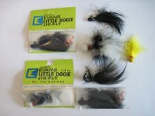 Lot of 7 Evans + Little Dogie Jig-Fly, Weighted Fly New/Used